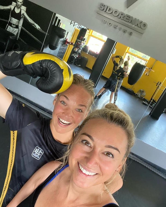 Martyna Wojciechowska trenuje boks