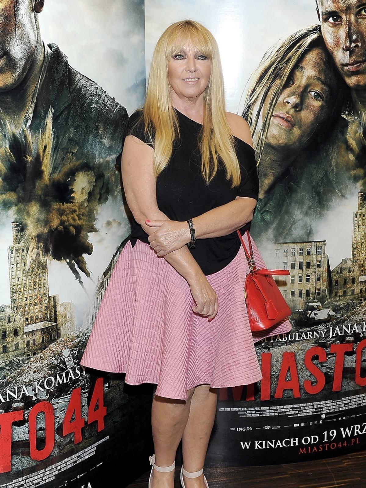 Maryla Rodowicz na premierze filmu Miasto 44