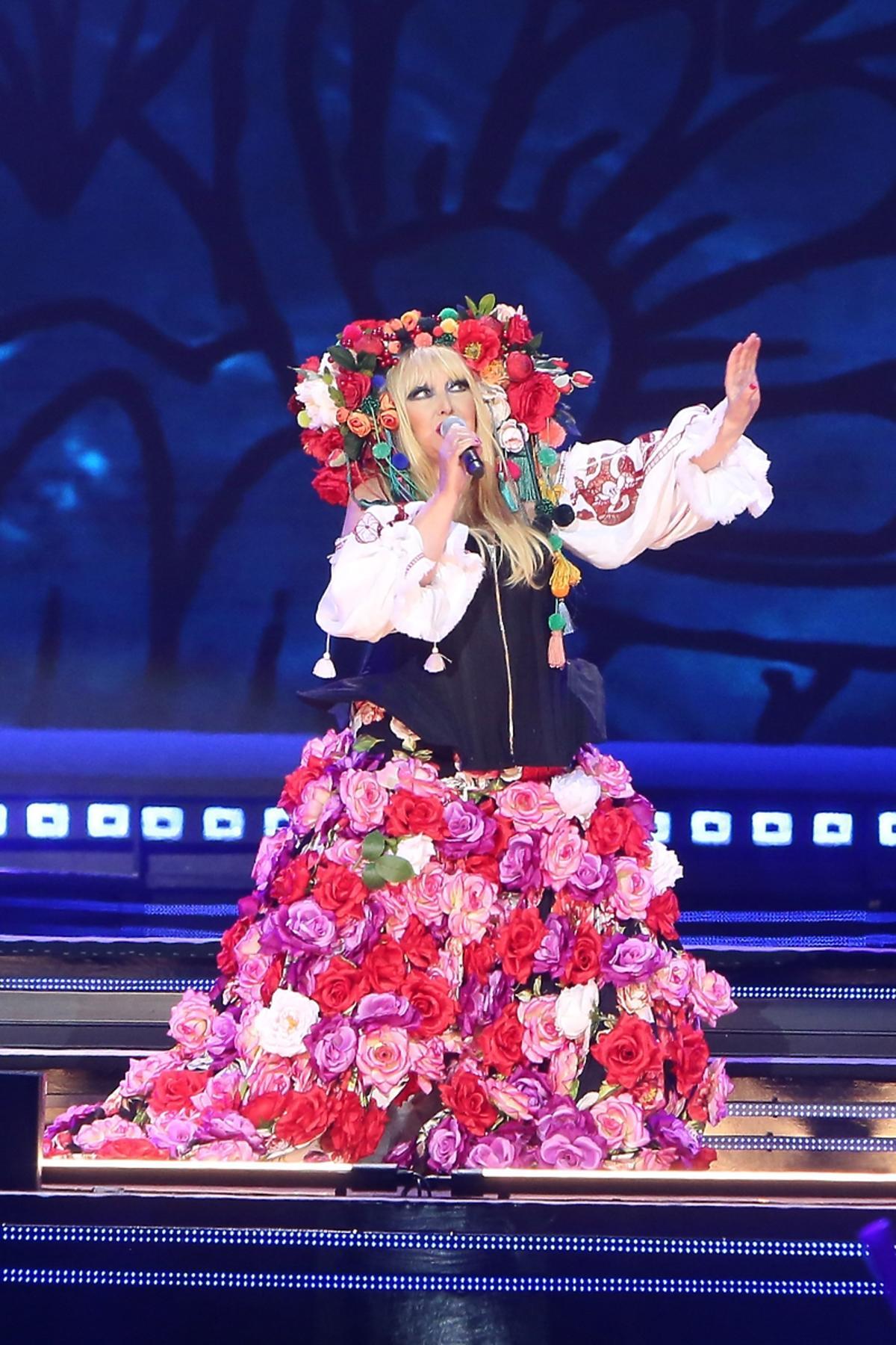 Maryla Rodowicz na sylwestrowym koncercie Polsatu