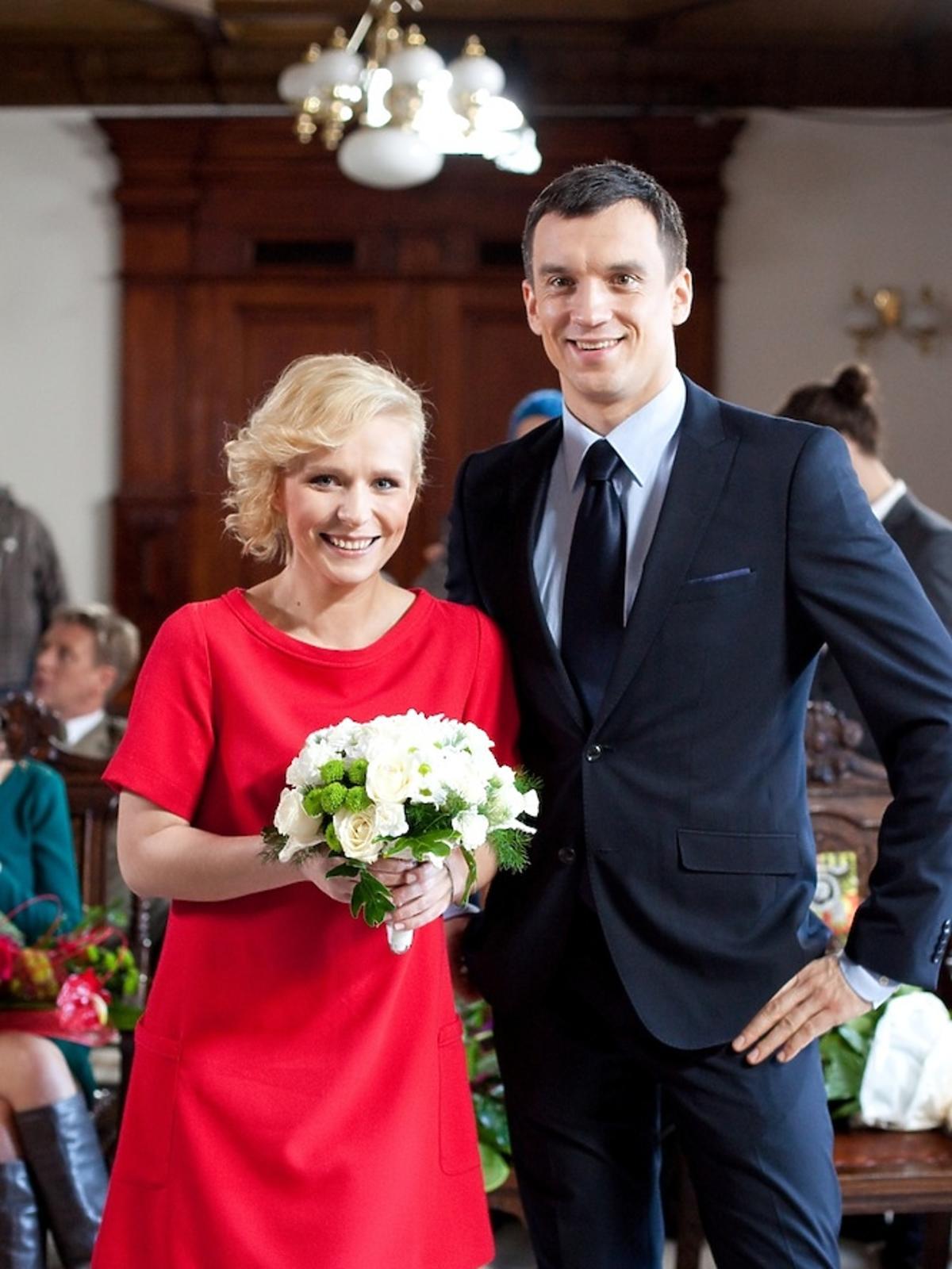 Marysia (Aneta Zając) i Hubert (Michał Czernecki)