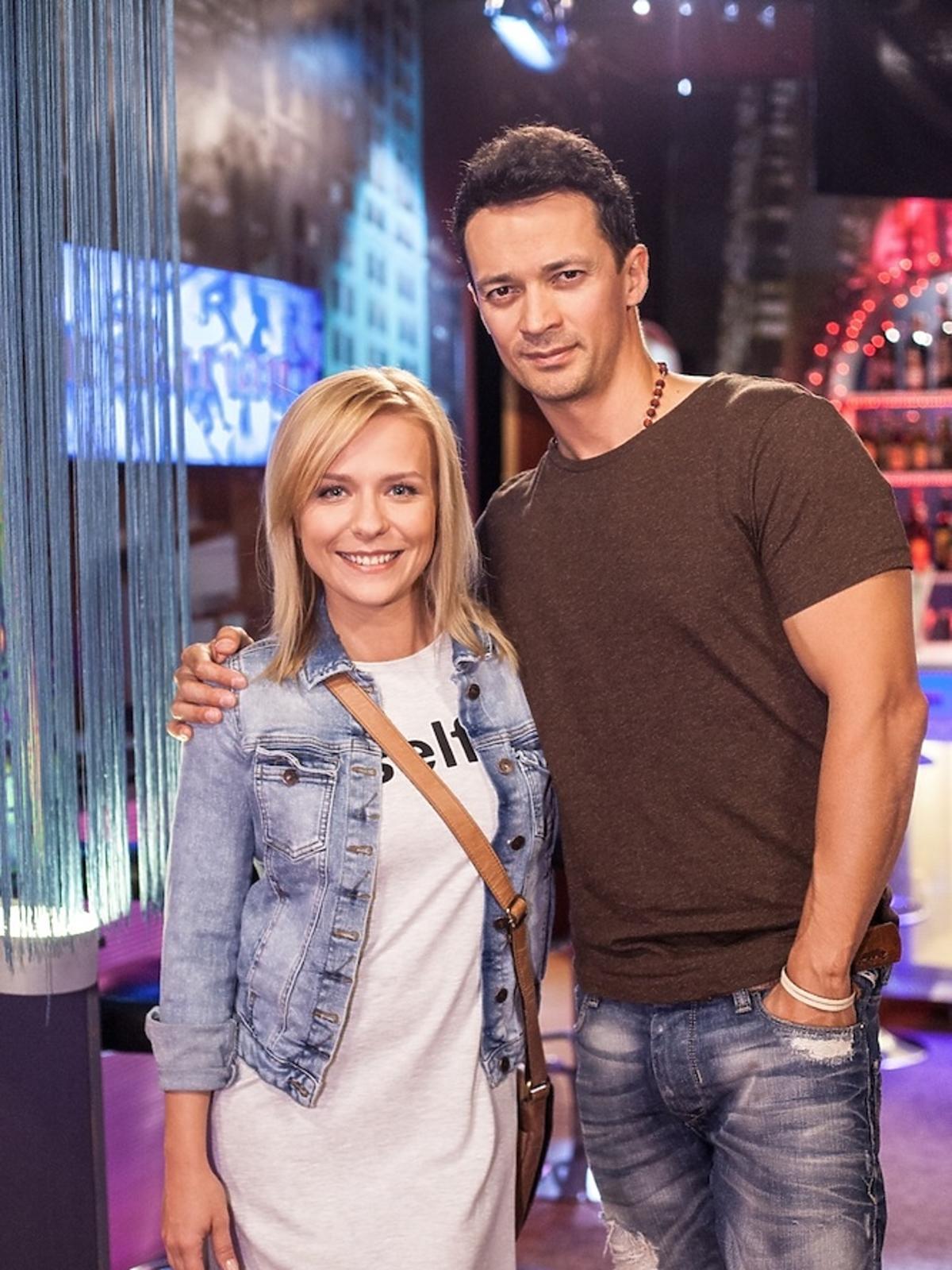 Marysia (Aneta Zając) i Łukasz (Rafał Cieszyński)