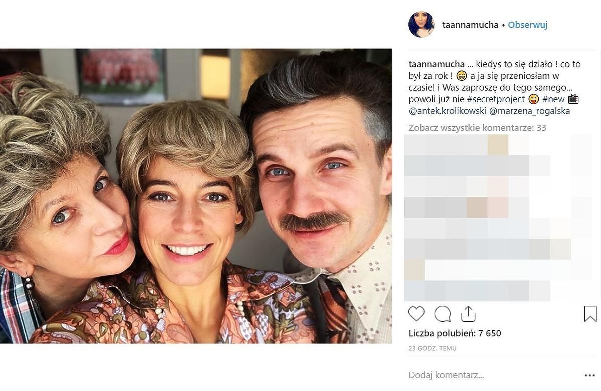 Marzena Rogalska, Anna Mucha i Antek Królikowski gwiazdami nowego programu TVP