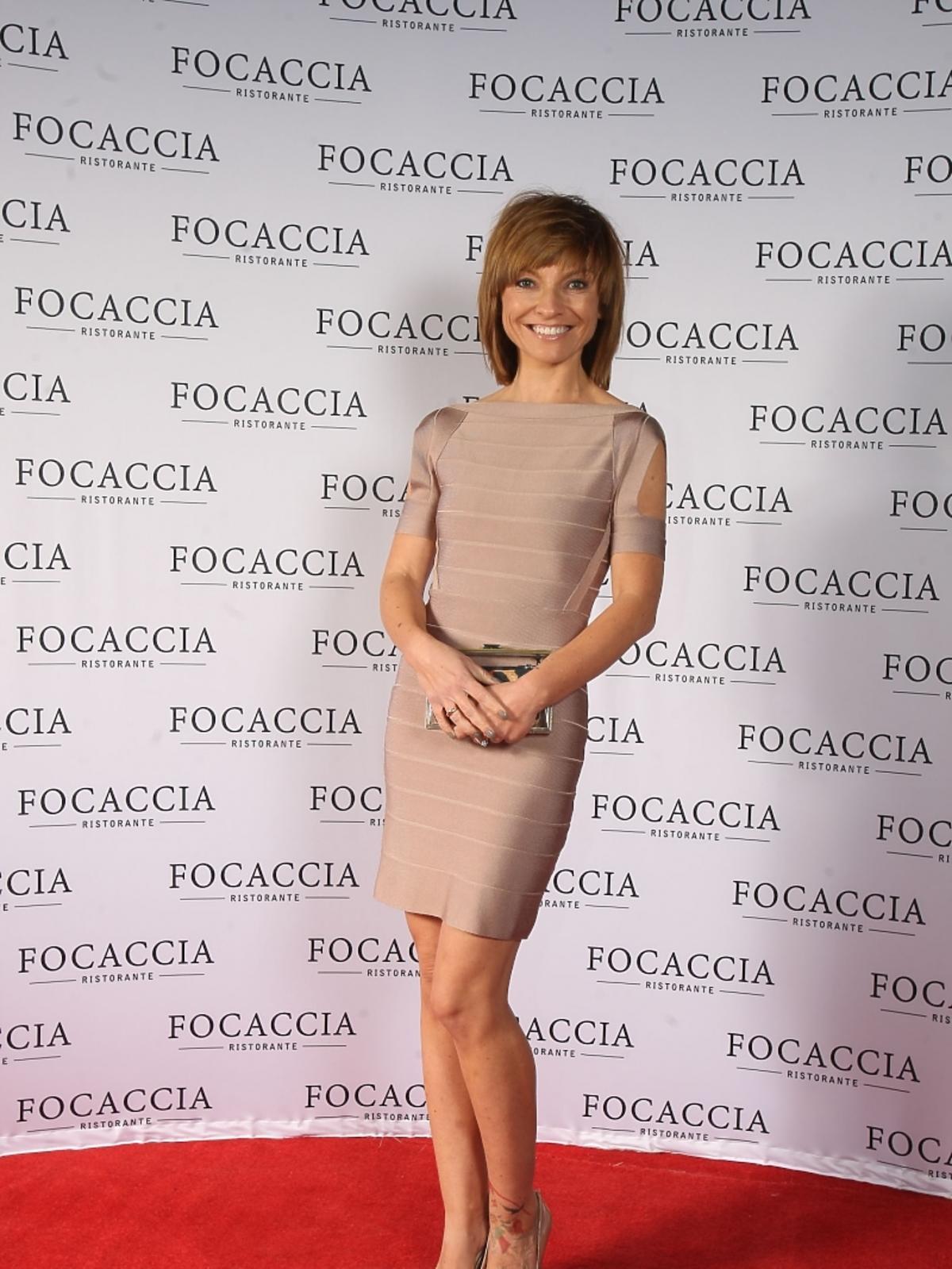 Marzena Sienkiewicz na otwarciu restauracji Focaccia