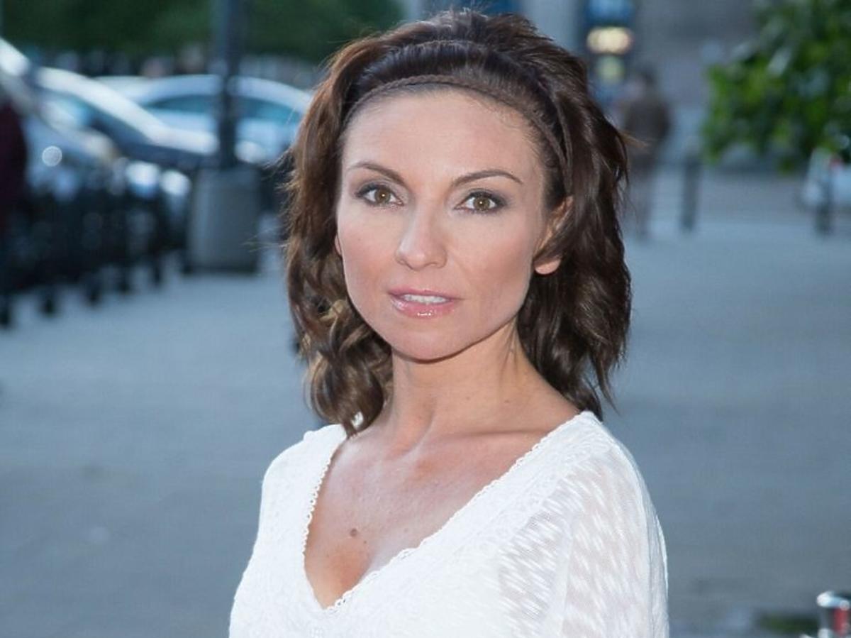 Marzena Sienkiewicz w białej bluzce