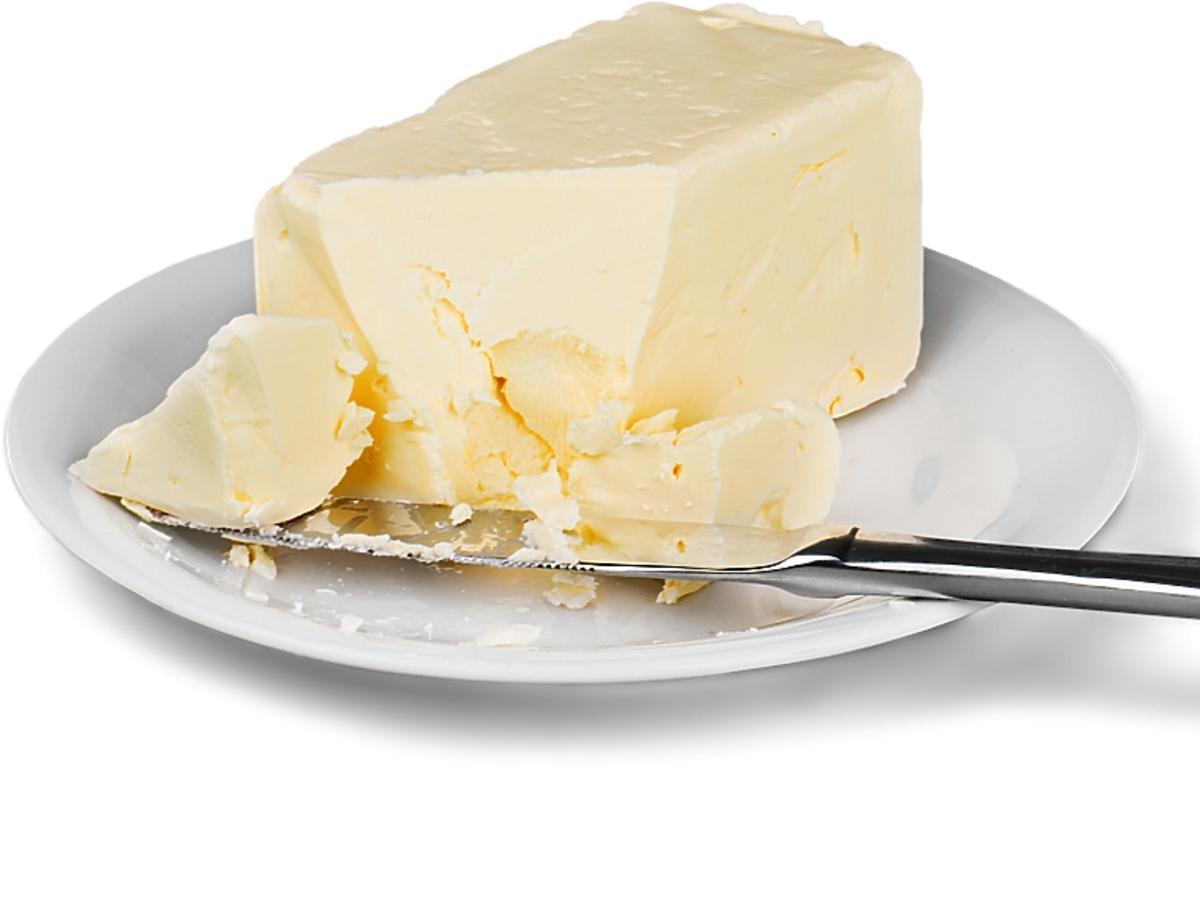 masło na talerzyku