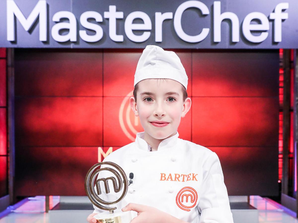 Masterchef Junior Bartek Kwiecieńw kuchennym kitlu