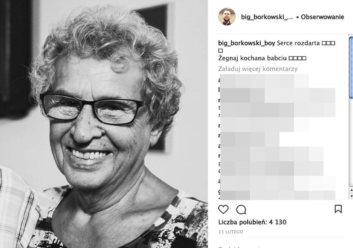 Mateusz Borkowski o śmierci Pani Basi Gogglebox. Przed telewizorem