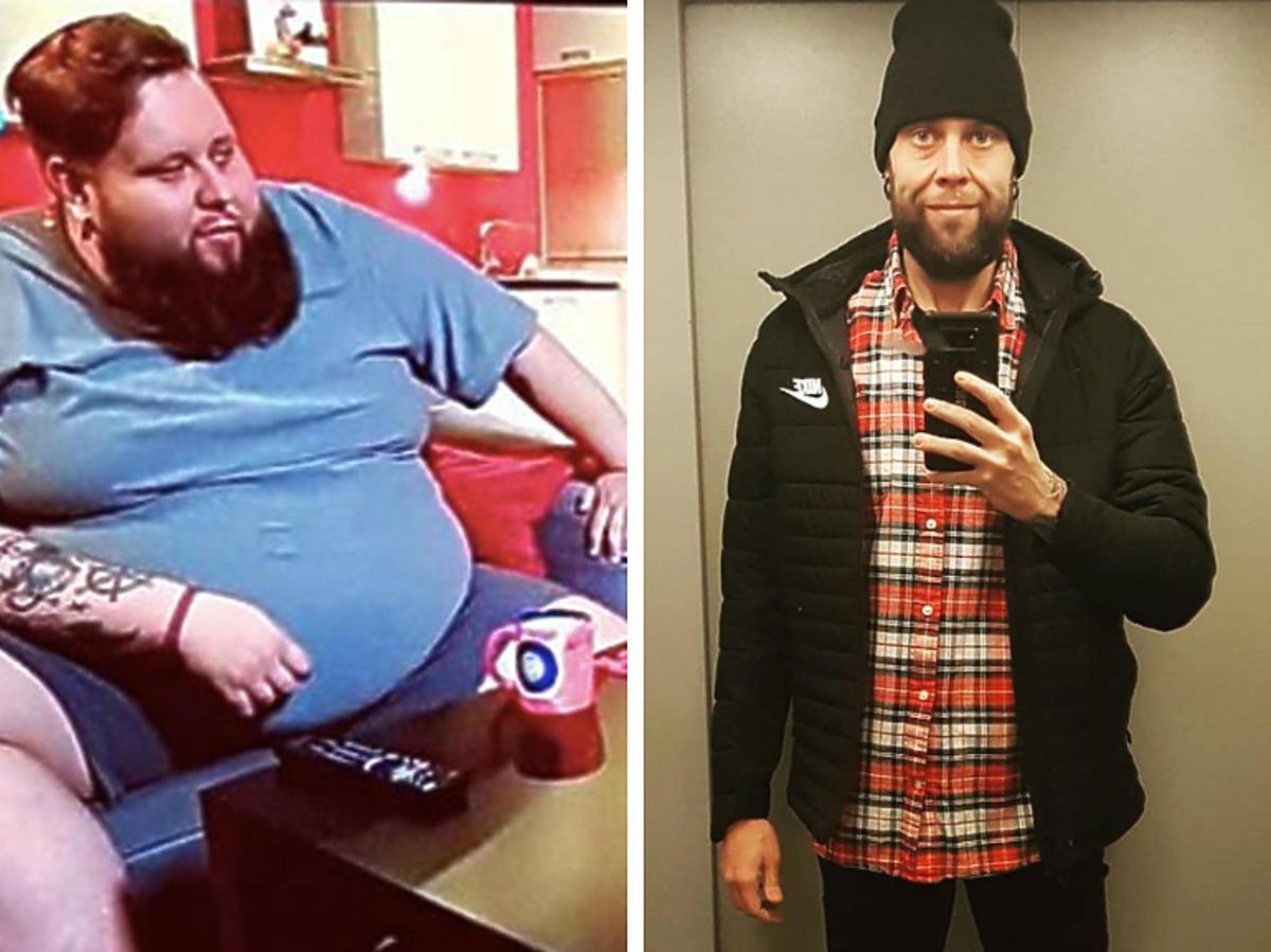 Mateusz Borkowski schudł 160 kg