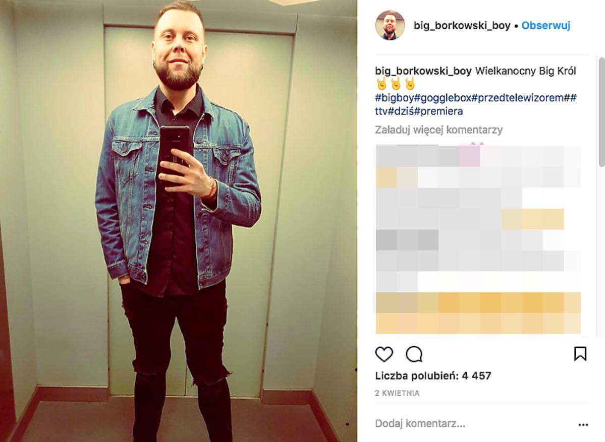 Mateusz Borkowski z Gogglebox TTV schudł
