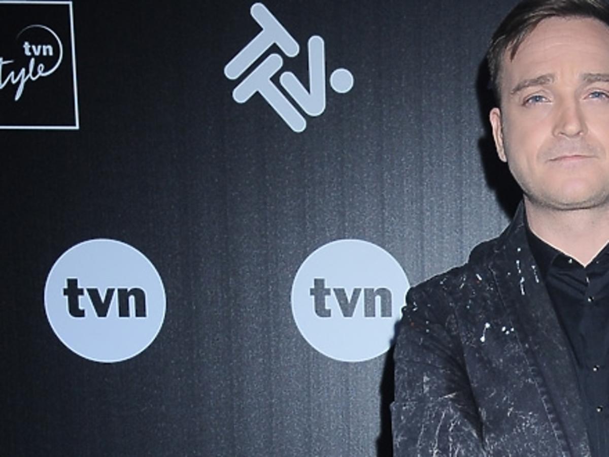 Mateusz Gessler na prezentacji wiosennej ramówki TVN