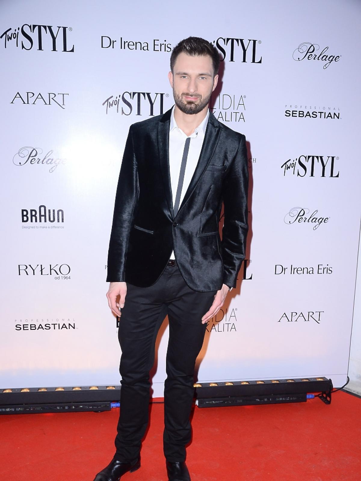 Mateusz Hładki na imprezie Doskonałość Mody Twojego Stylu