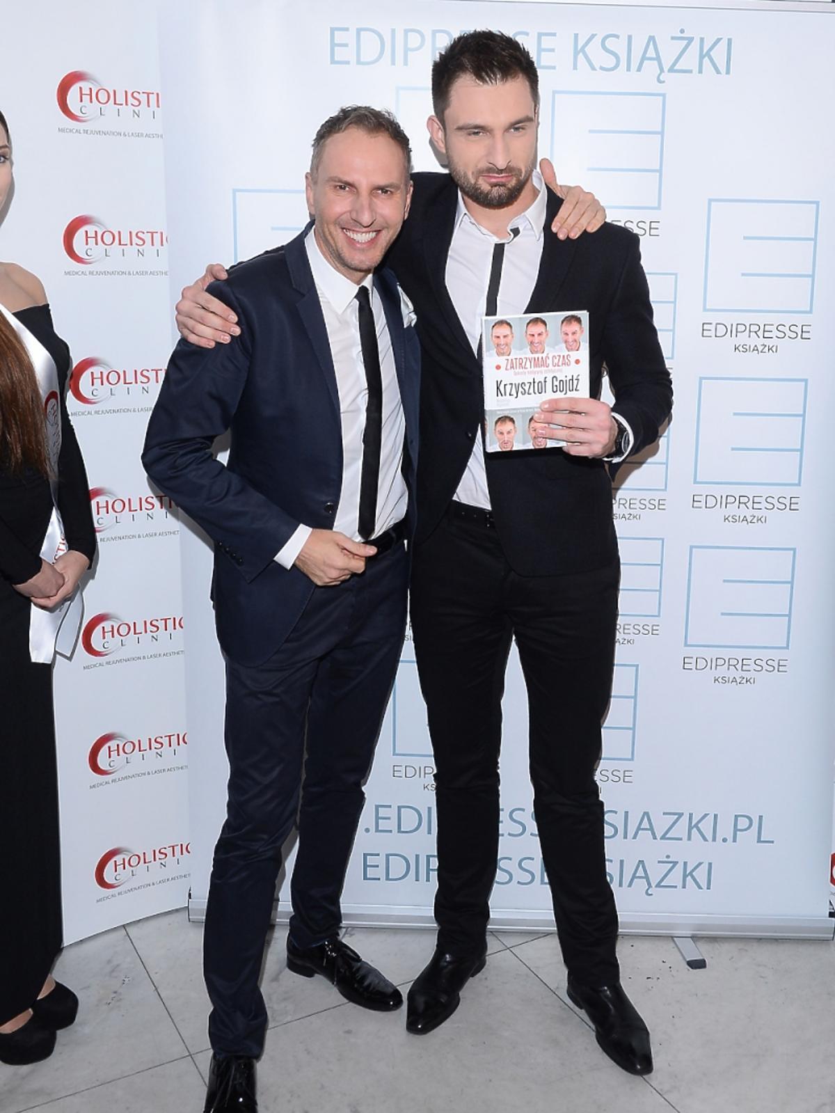 Mateusz Hładki na premierze książki Krzysztofa Gojdzia