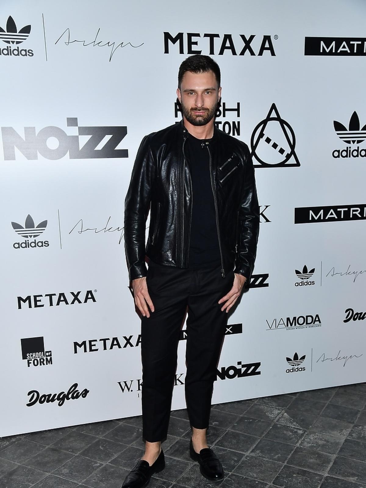 Mateusz Hładki podczas finału Fresh Fashion Awards powered by Noizz