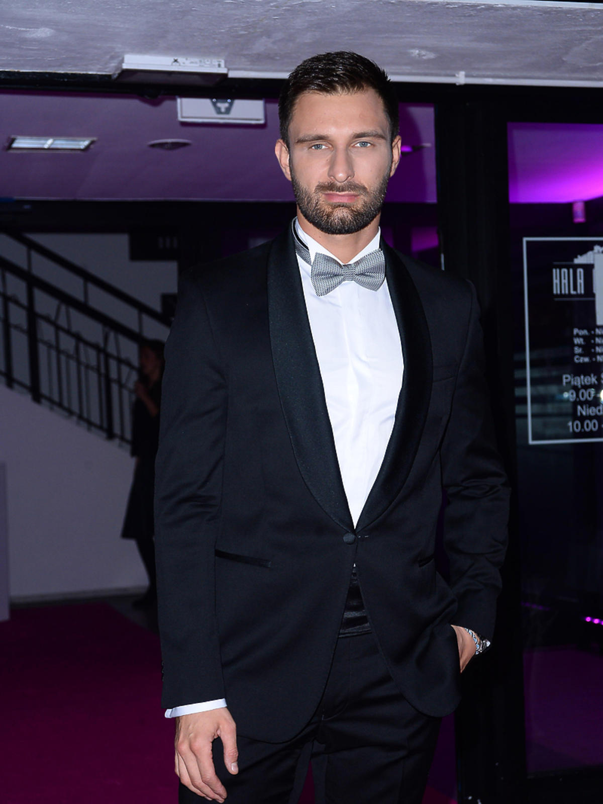 Mateusz Hładki - prowadzący galę rozdania nagród z okazji 10-lecia Magazynu Party