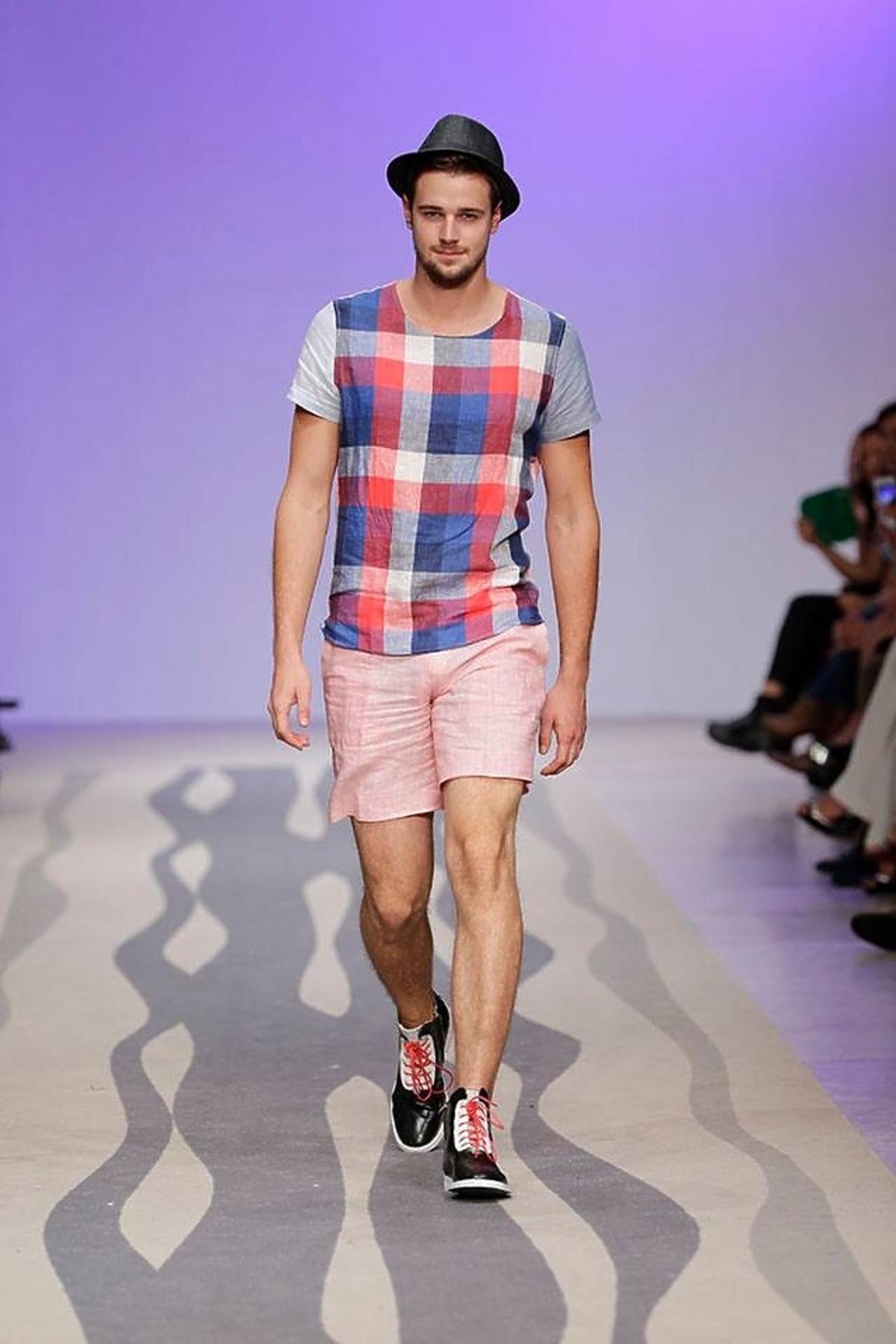 Mateusz Jarzębiak Góral z Top Model na Fashion Weeku w Lizbonie