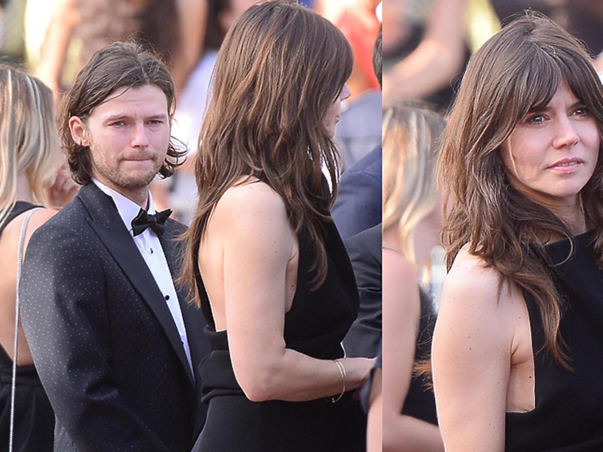 Mateusz Kościukiewicz i Małgorzata Szumowska w Cannes