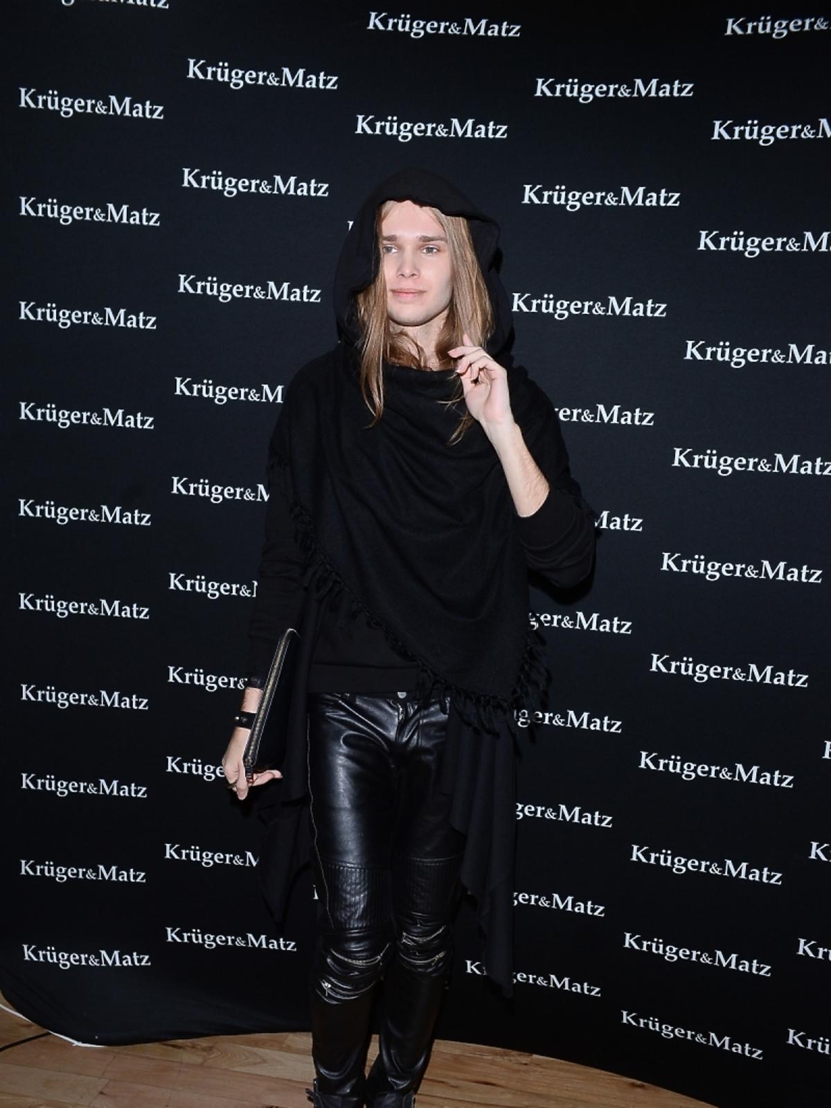 Mateusz Maga na imprezie marki Kruger&Matz