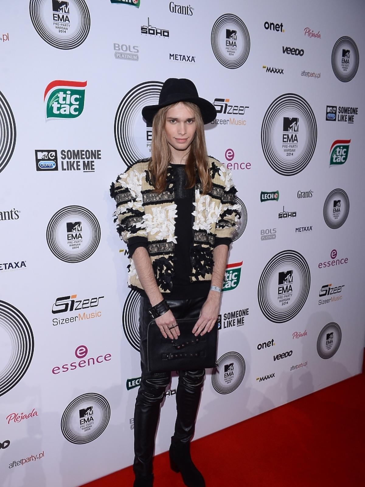 Mateusz Maga na MTV EMA Pre-Party 2014