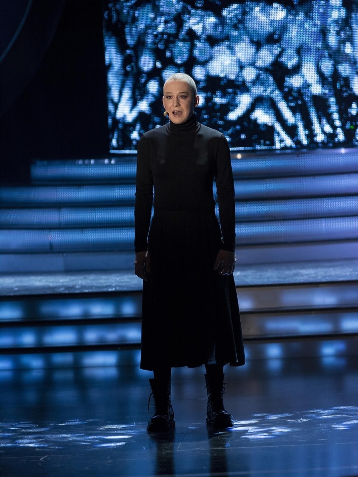Mateusz Matti Jakubiec jako Sinead O'Connor w Twoja Twarz Brzmi Znajomo