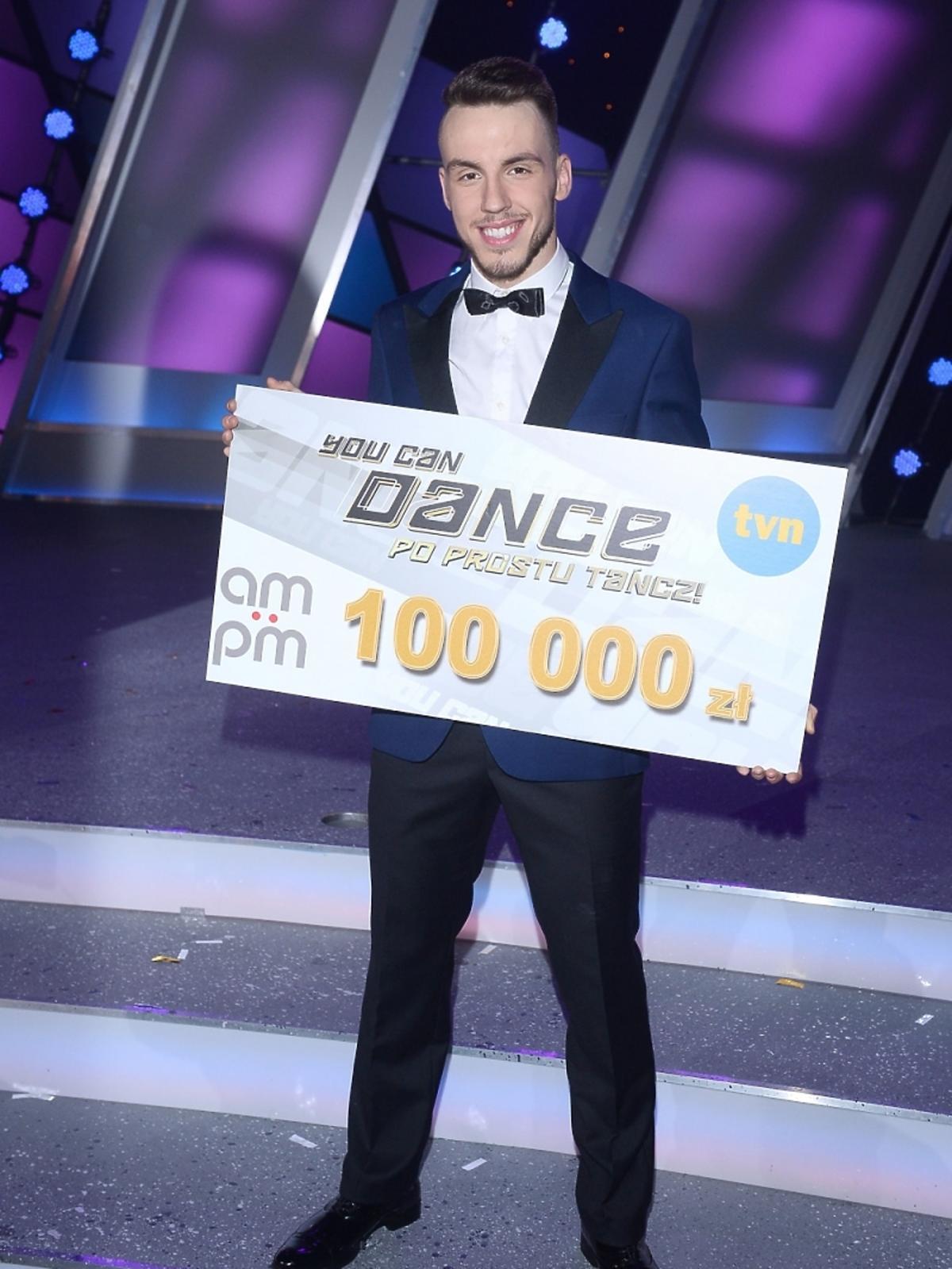 Mateusz Sobecko w finale You Can Dance
