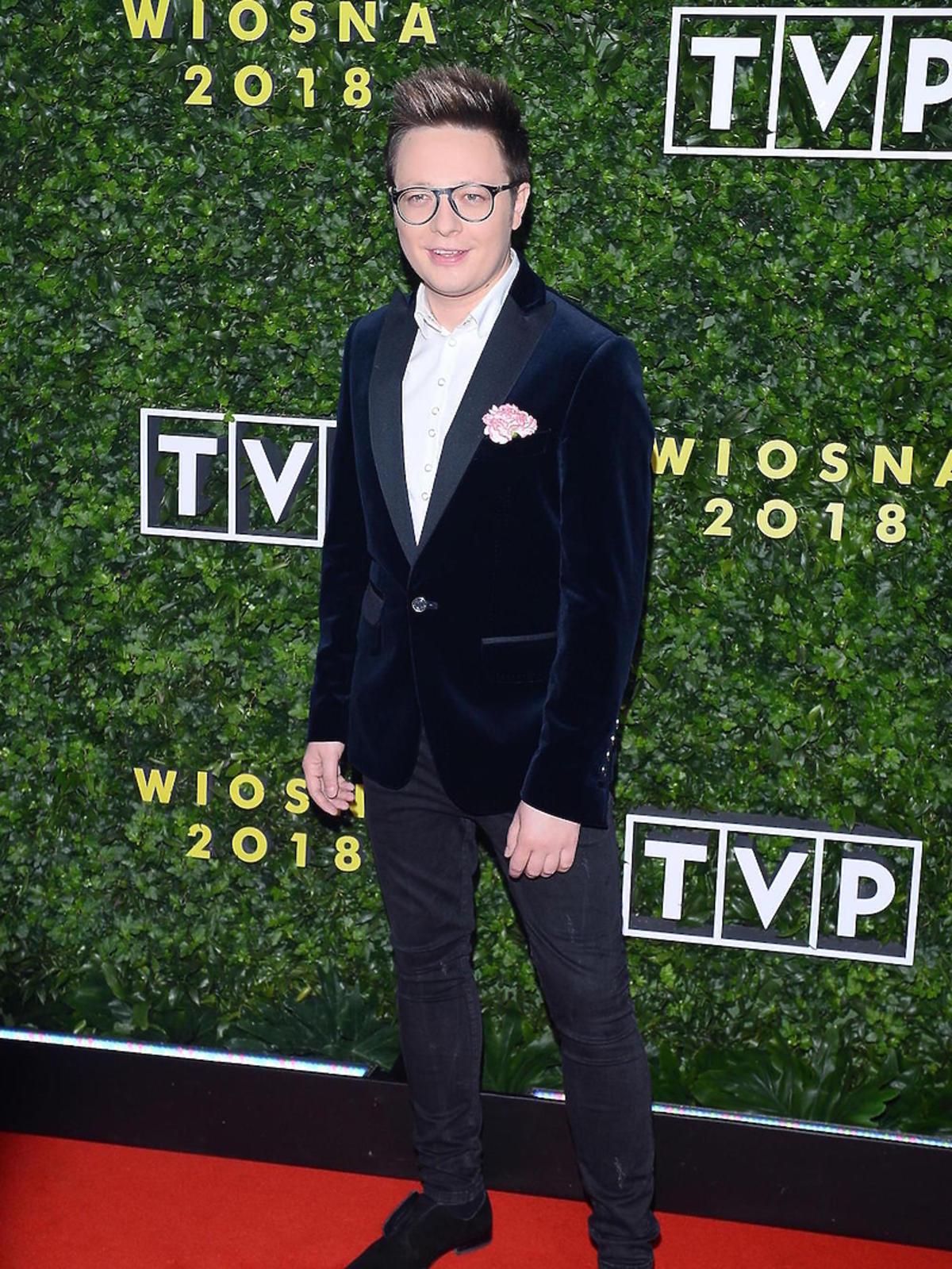 Mateusz Szymkowiak na ramówce TVP