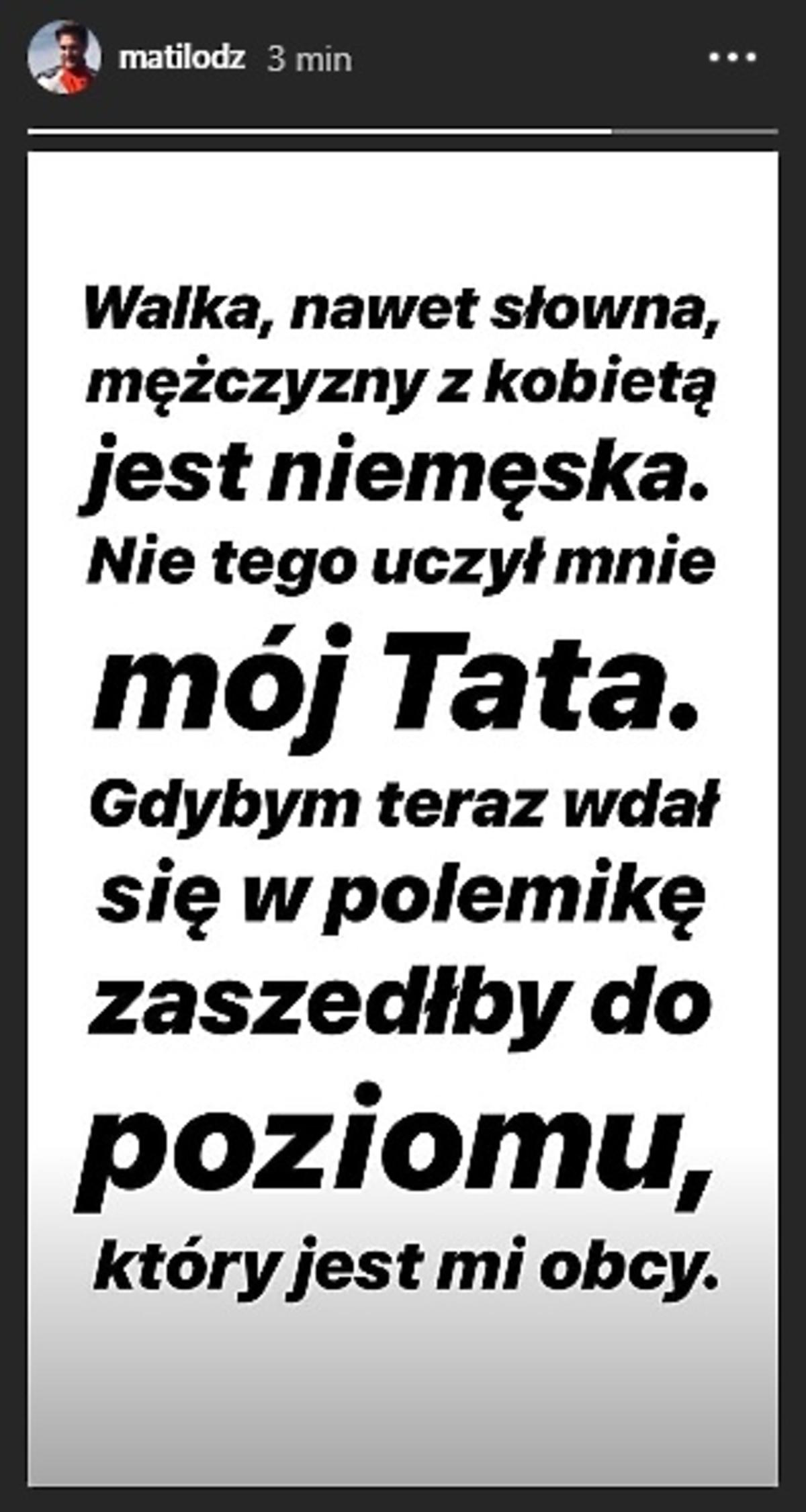 Mateusz Zalewski Instagram