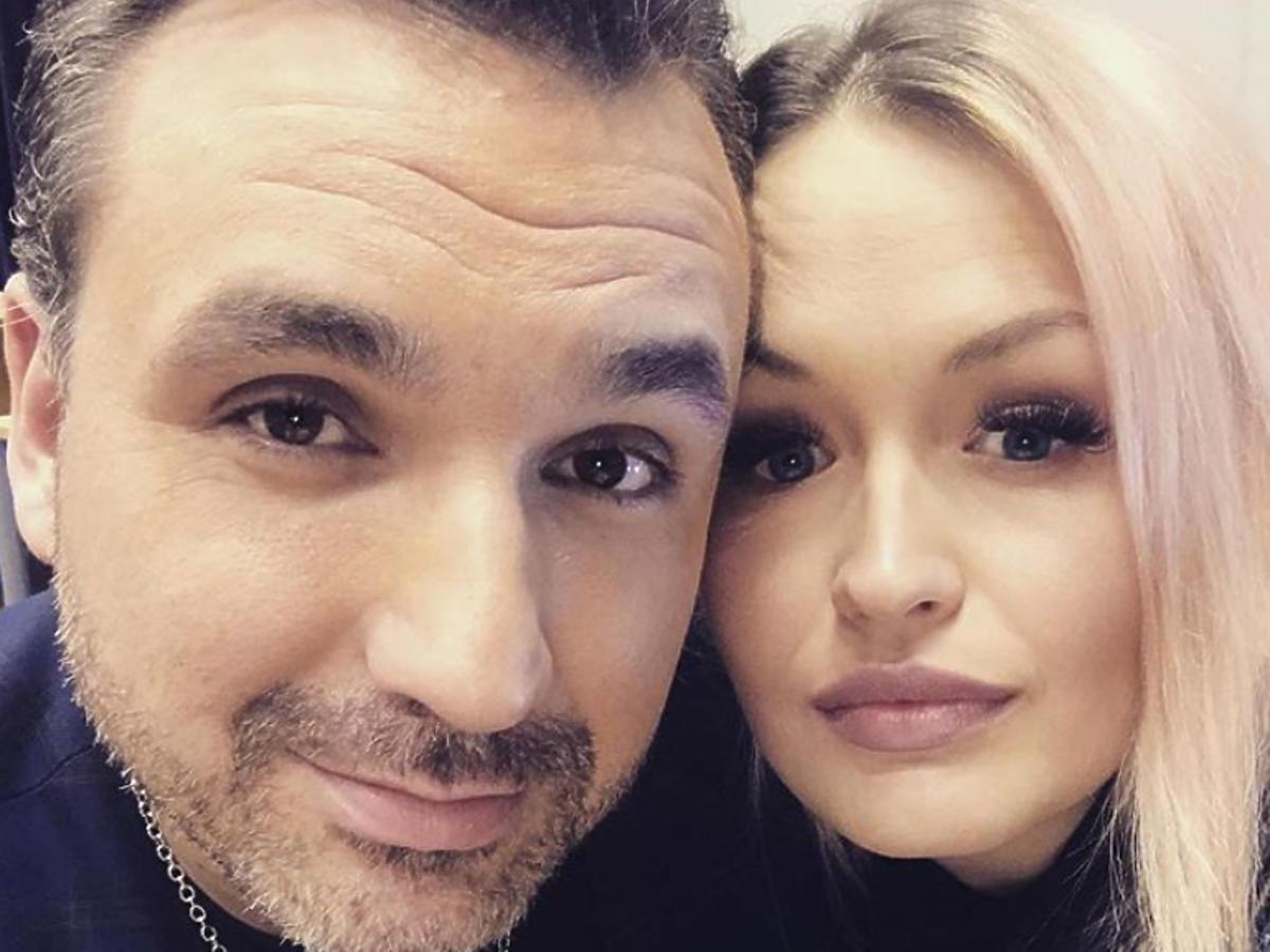 Mateusz Ziółko z żoną, Marianną