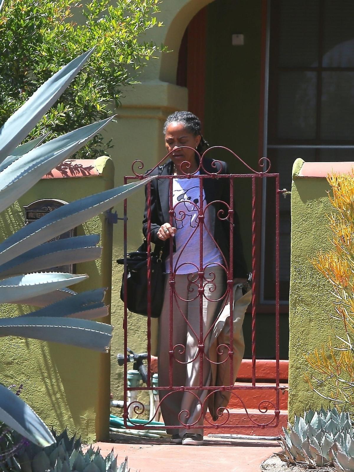 Matka Meghan Markle w drodze na lotnisko