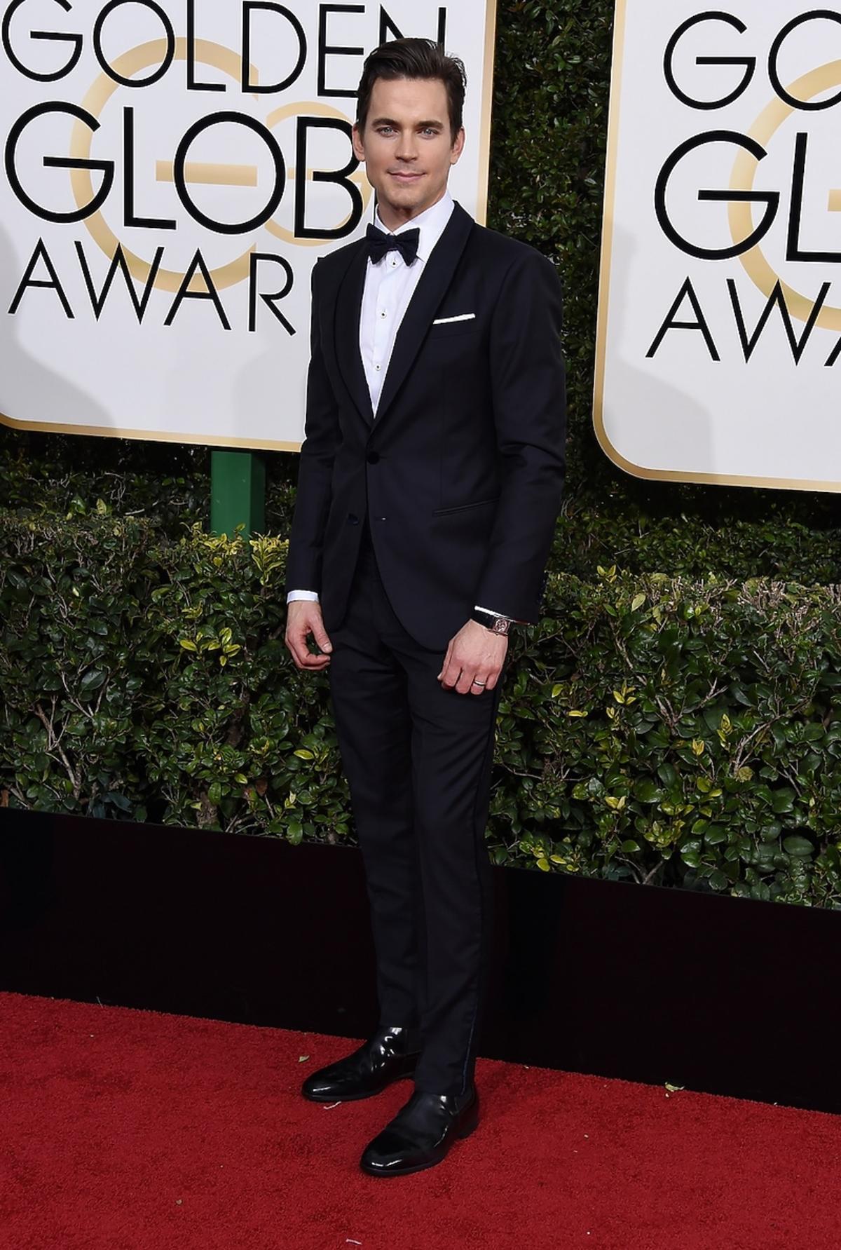 Matt Bomer na rozdaniu Złotych Globów 2017