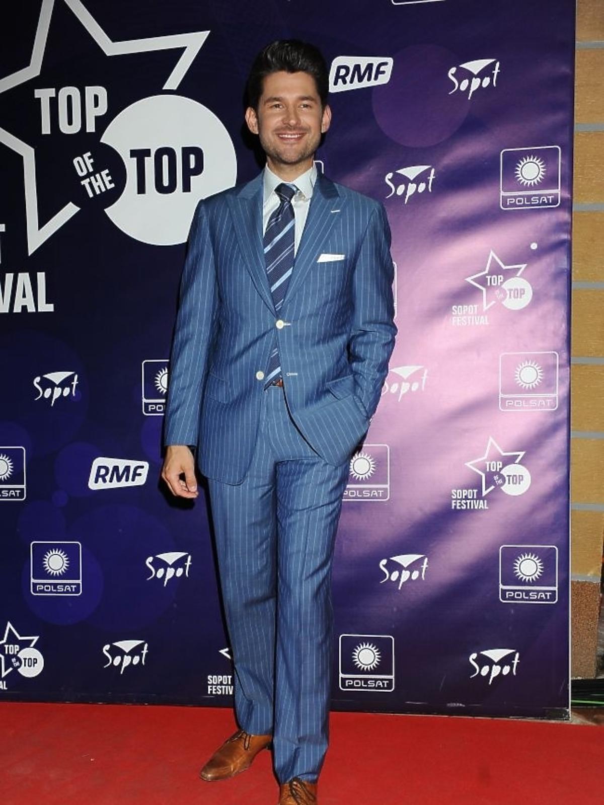 Matt Dusk podczas pierwszego dnia Sopot Top of the Top Festival 2013