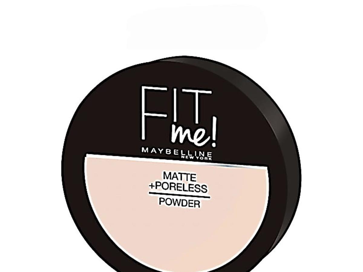 MAYBELLINE, FIT ME!, MATTE + PORELESS POWDER na promocji w Rossmannie