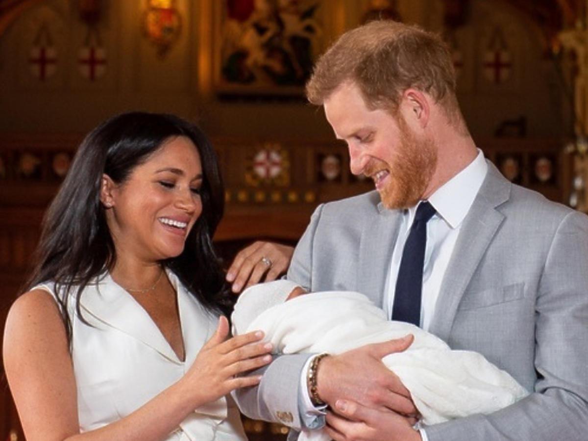Meghan i Harry pokazali dziecko