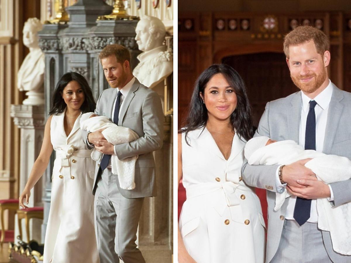Meghan i Harry pokazali syna