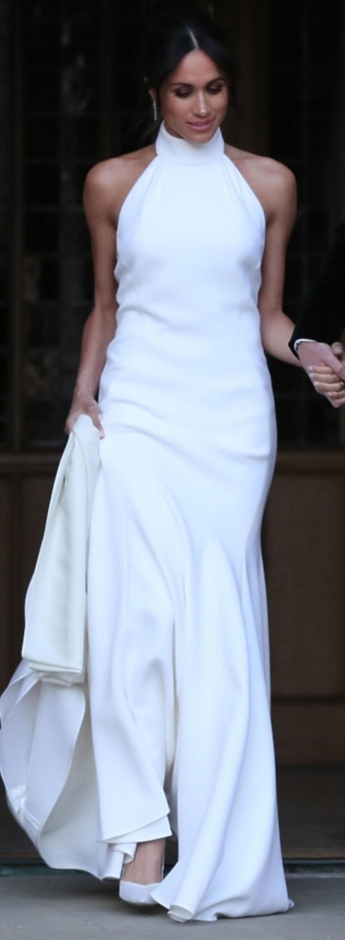 Meghan Markle - druga suknia ślubna
