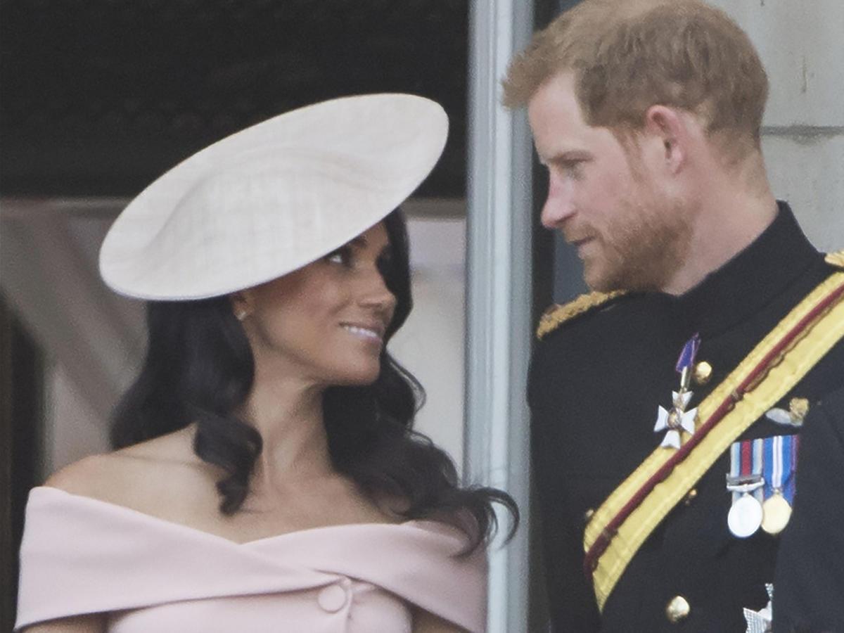 Meghan Markle i książę Harry na urodzinach Elżbiety II