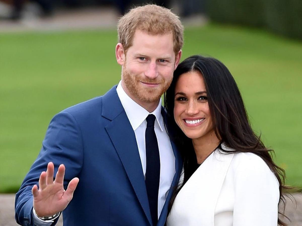 Meghan Markle i książę Harry - oficjalna sesja zdjęciowa