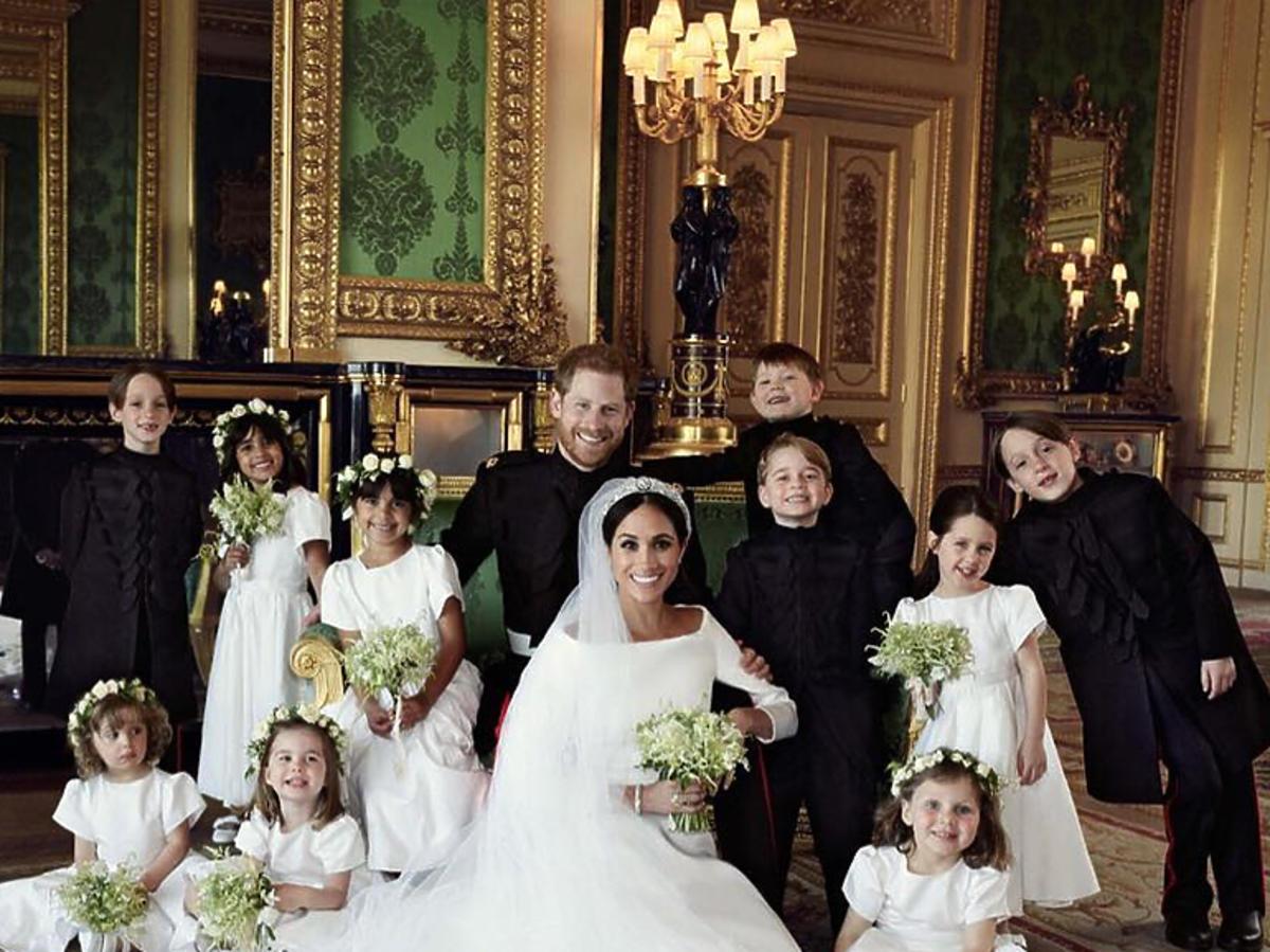 Meghan Markle i książę Harry podczas sesji poślubnej