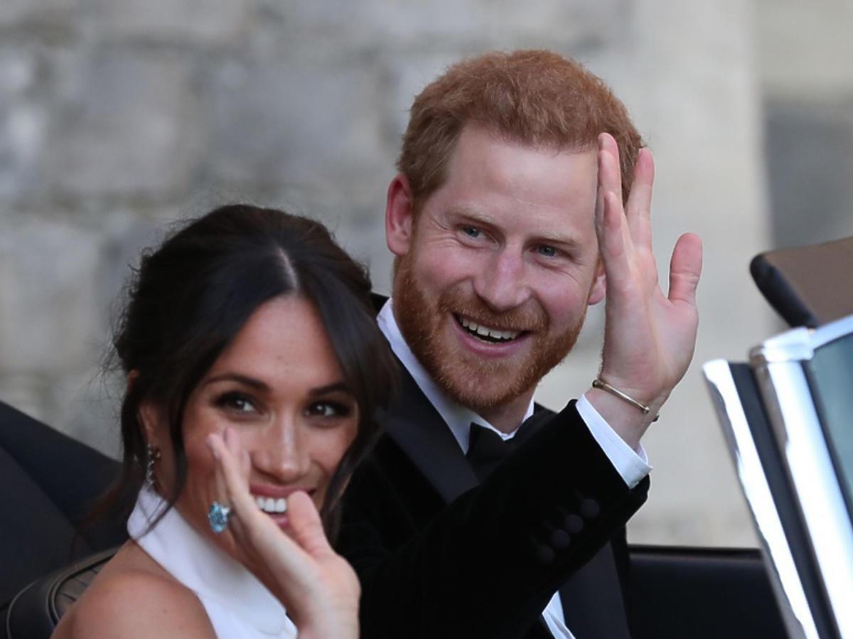 Meghan Markle i książę Harry pojechali na wesele
