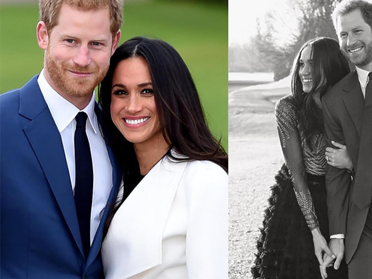 Meghan Markle i książę Harry - sesja zaręczynowa