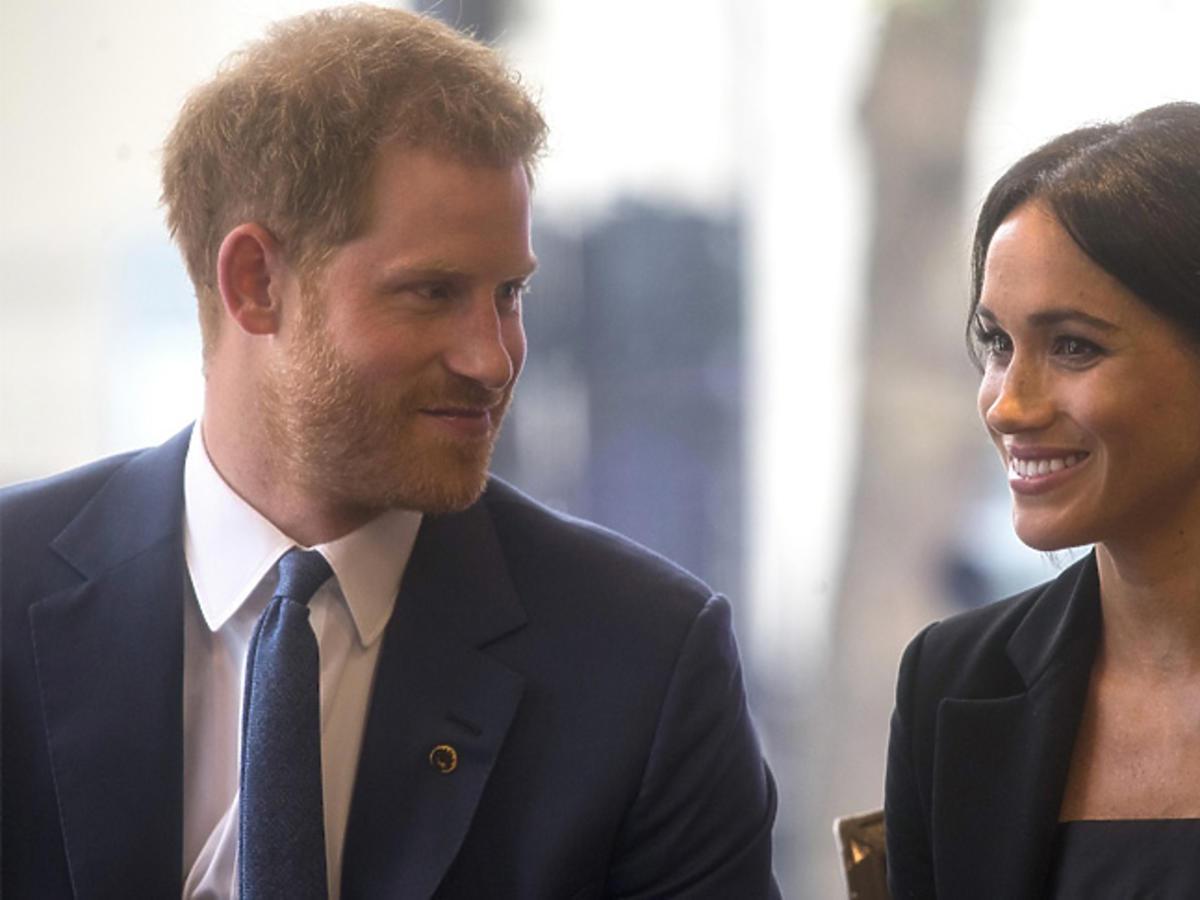 Meghan Markle i książę Harry w Londynie