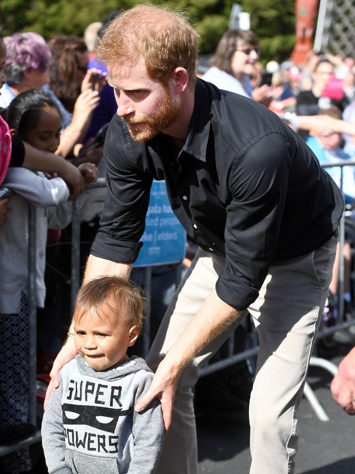 Meghan Markle i książę Harry w Nowej Zelandii