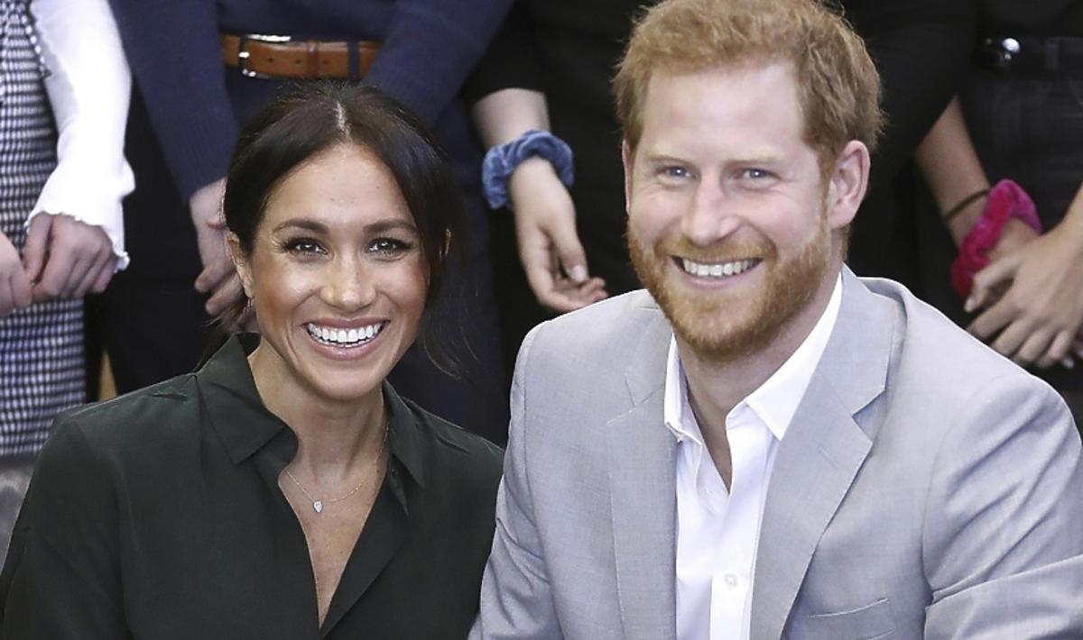 Meghan Markle i książę Harry w Sussex