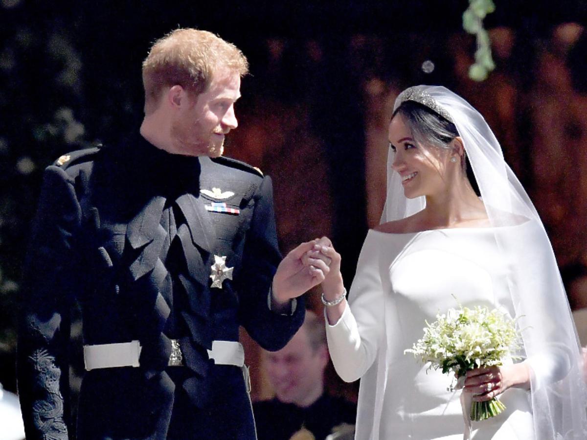 Meghan Markle i książę Harry wzięli ślub