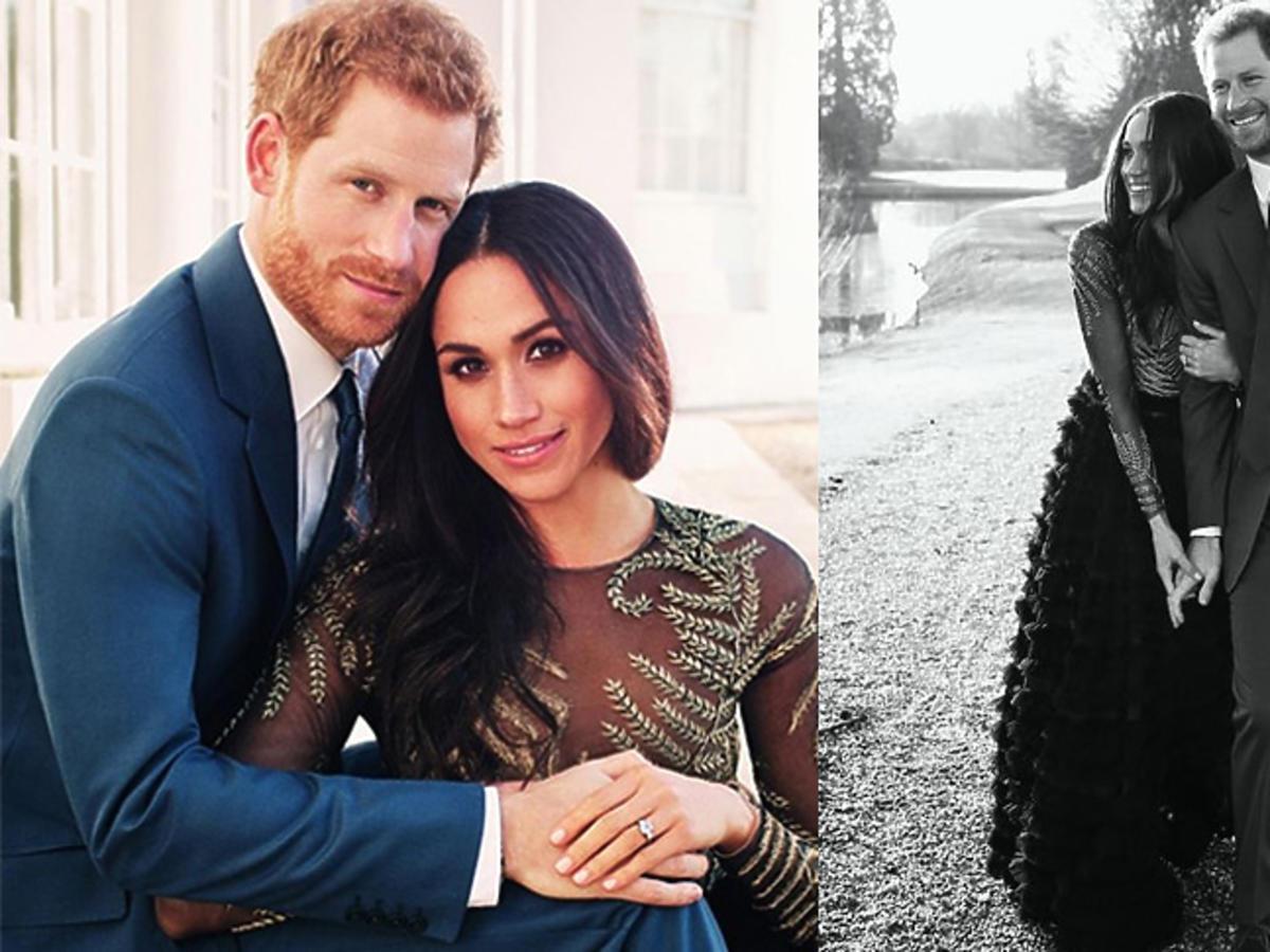 Meghan Markle i książę Harry - zdjęcia z zaręczyn