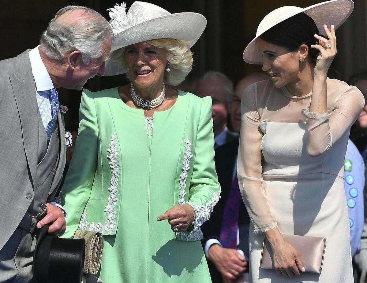 Meghan Markle i książę Karol w Londynie