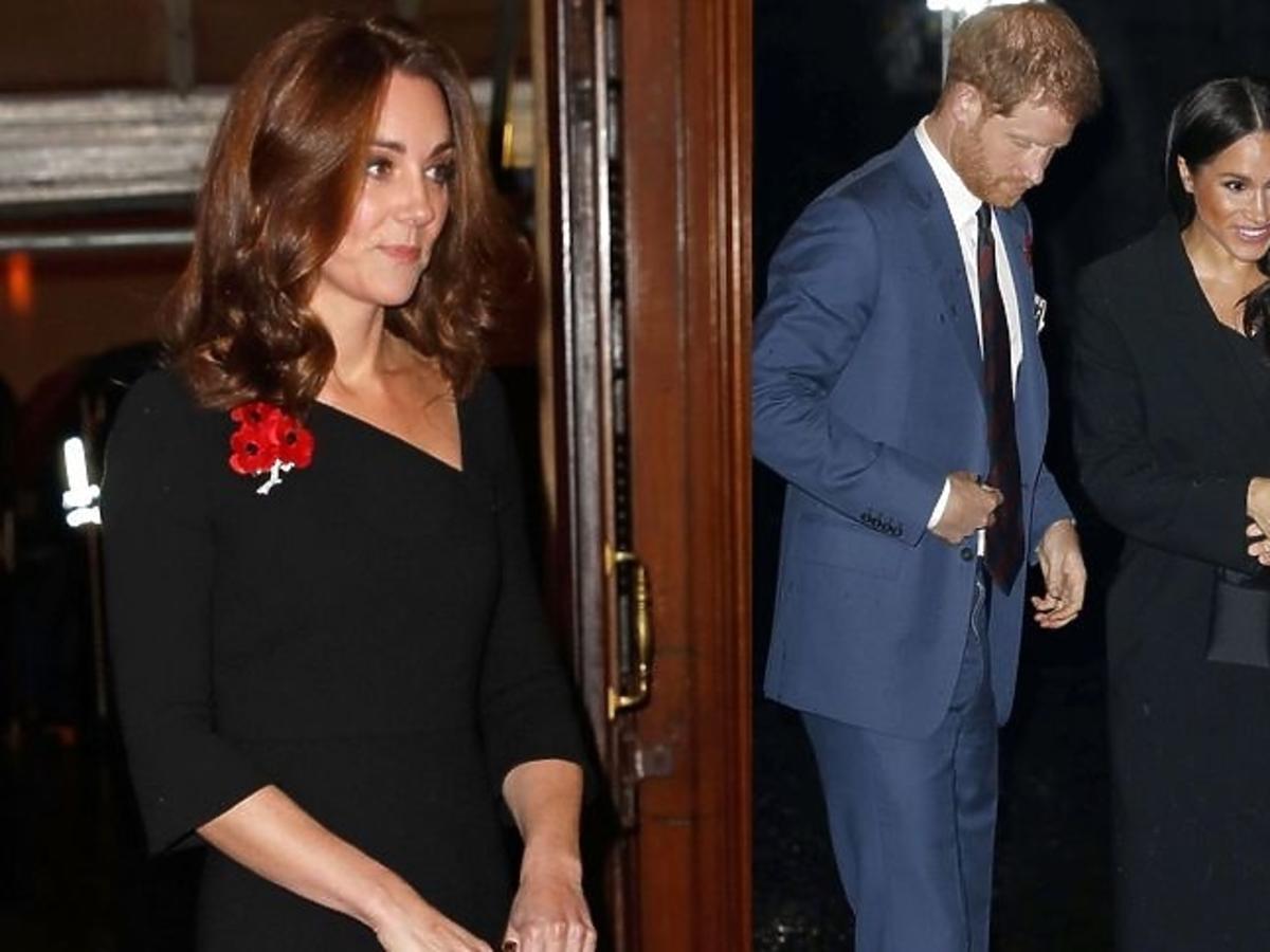 Meghan Markle i księżna Kate na obchodach Dnia Pamięci