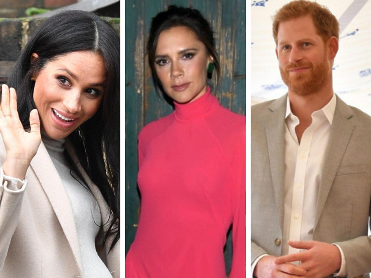 Meghan Markle, książę Harry, Victoria Beckham