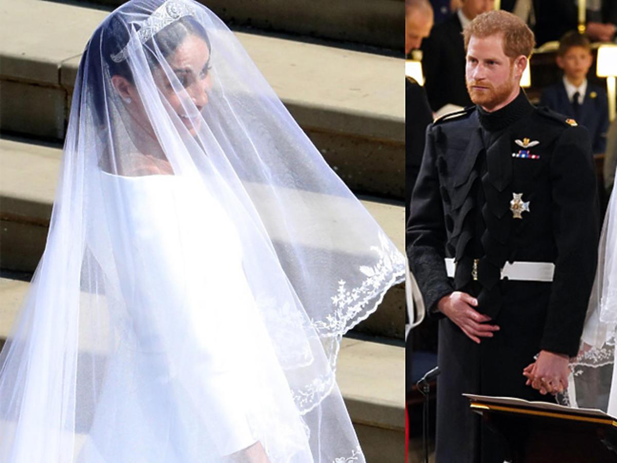 Meghan Markle - suknia ślubna