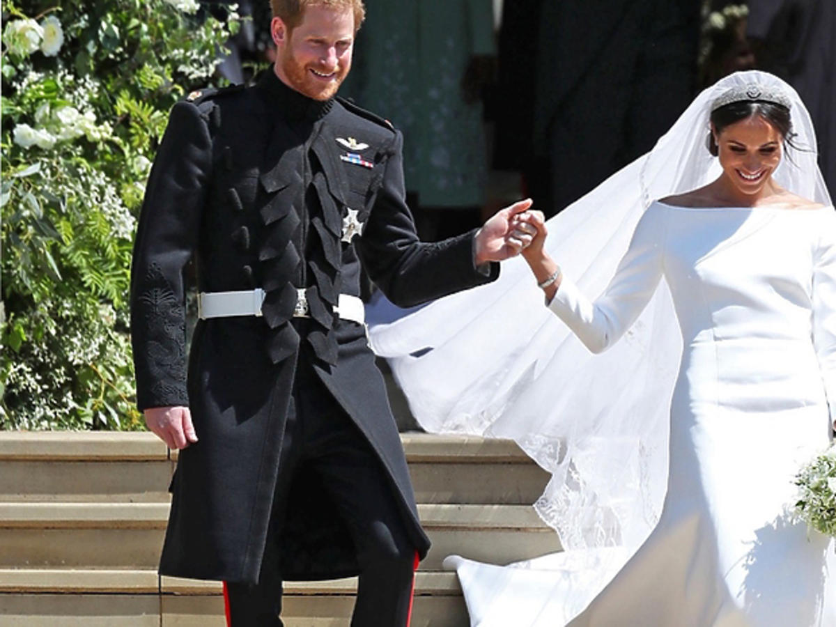 Meghan Markle - suknia ślubna to plagiat?