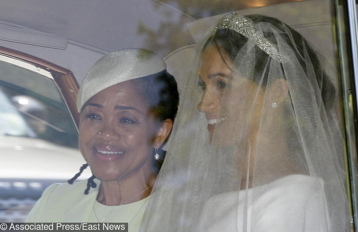 Meghan Markle w drodze na ślub